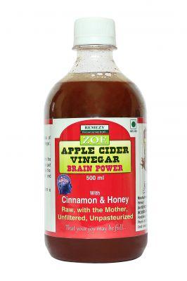 Zoe Herbal Health Drink (CH) With Ceylon Cinnamon, Honey & Apple Cider Vinegar {Weight Loss} - 500 Ml