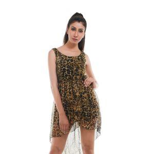Buy Ziva Fashion Women's Animal Print Tunic - Jungle1 online