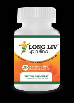 Buy Longliv Dietary Supplements Spirulina 120 Capsule online