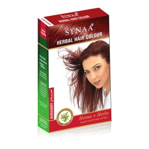 Buy Synaa Herbal Hair Color Burgundy online