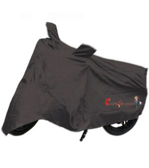 Buy Capeshoppers New Advance Bike Body Cover Grey For Suzuki Hayate online