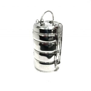 Buy Graminheet Stainless Steel Lunch Box Belly Shape online
