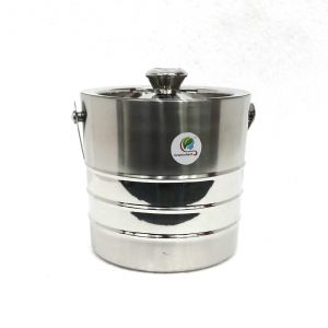 Buy Graminheet Stainless Steel Ice Bucket 1500ml In Fancy 2 online