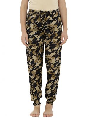 Buy Loco En Cabeza Printed Elasticated Bottom Lounge Pant (code - Czwpy0013) online