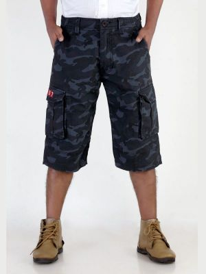 Buy London Bee Printed Mens Cargo Shorts online