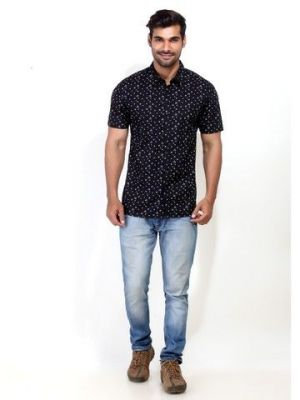 Buy London Bee Mens Short Sleeve Shirt - (code - Msslb0001) online