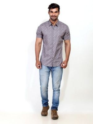Buy London Bee Mens Short Sleeve Shirt - (code - Msslb0003) online