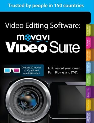 Buy Movavi Videosuite , Convert , Edit Videos , Burn CD online