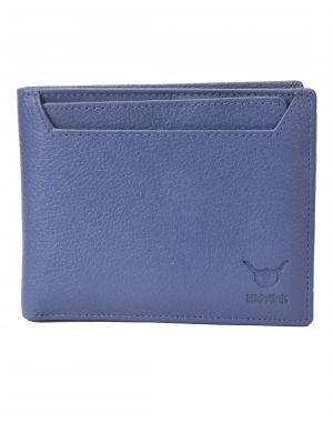 Buy Hidelink Men Blue Genuine Leather Wallet (swp5054) online
