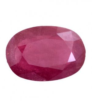 Buy Ratna Gemstone 4.25 Ratti Certified Natural Ruby/manik Gemstone With Best Quality online