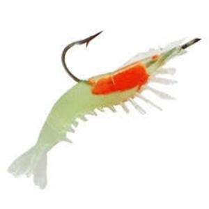 Buy Soft Silicone Prawn Shrimp Fishing Lure Hook Bait Tackle online