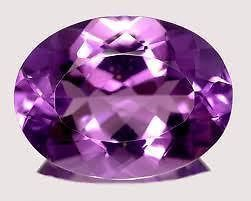 Buy Ruchiworld 7.63 Ct Certified Natural Amethyst (jamunia) Loose Gemstone online