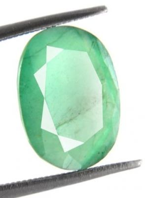 Buy 3.66 Cts Certified Natural Green Panna Stone online