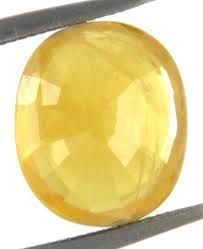Buy 5.25 Ratti Pukhraj Stone For Jupiter online
