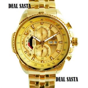 Buy Imported Casio Edifice 558 Full Gold Watch For Men online