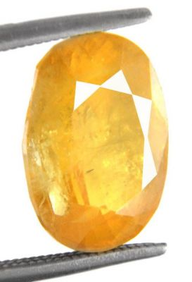 Buy Yellow Sapphire 8.25 Carat Pukhraj Stone By Aj Retail online