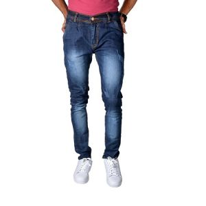 Buy Noori Garment Blue Denim Jeans online