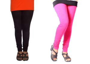 Buy Spero Women's Cotton Multi Color Free Size Leggings (pack Of 2) (code - 74 Lg) online