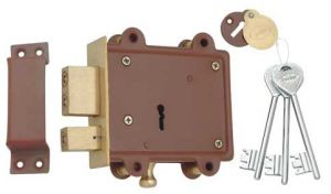 Buy Spider Side Door Lock 8 Lever, D/A 3 Keys Pack Of 1