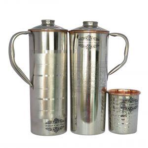 bae87d4b8fe Buy Steel Copper Embossed Fridge Bottle 900 Ml With Steel Copper Luxury Fridge  Bottle 900 Ml