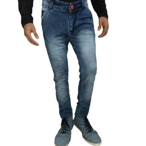 Buy Gubs Blue Slim Fit Narrow Bottom Jeans online
