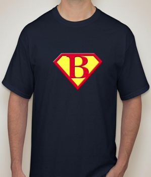 Buy Superman - B Navy  T-shirt for Men online