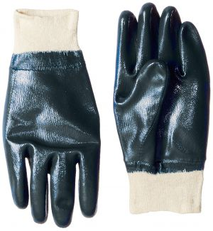 Buy Vedika Creations Wool Made Blue Colour Half Coated Gloves Pair Of Two (code-vcfsng) online