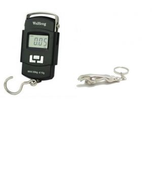 Buy 50kg Digital Weighing Scale With Free Jaguar Keychain online