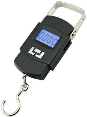 Buy Connectwide Portable Hanging Kitchen Weight Weighing Scale 50kg Digital LCD Pocket Tare online