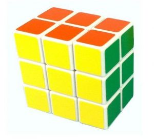 Buy Lanlan3x3x2 Speed Cube Puzzle Brain Teaser White online