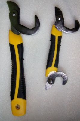 Buy 2pcs Multifunction Quick Snap'n Grip Wrench Adjustable Wrench Spanner Tools online