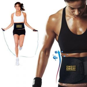 Buy Waist Trimmer Sweat Belt Slimming Shaper Bodyshaper Belt Tummy Tucker online