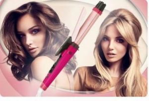 Buy Nova 2 In1 Hair Curler Straightner Ceramic Straightning Set Variable Temp online