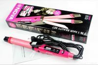 Buy Nova Professional 2 In 1 Hair Curler Hair Straightener online