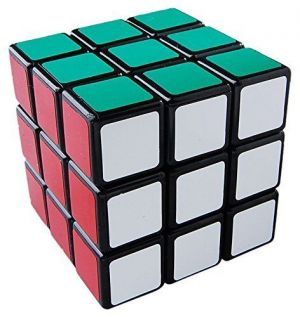Buy Shengshou 3x3x3 Wind Series Brain Teaser Speed Cube Puzzle, Black online