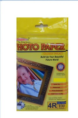 Buy Bambalio Bpg 270-4r 270 GSM Glossy Photo Paper -post Card Size(4