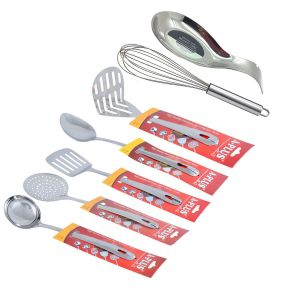Buy A-plus 7 PCs Multifunction Stainless Steel Kitchenware Cooking Tool Set online