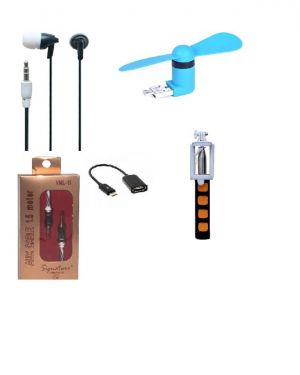 Buy 5in 1 Combo Of Signature Mobile Accessories online