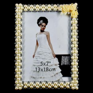 Buy Golden Glass Photo Frames Size - 5x7 (13x18cm) online