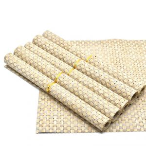 Buy Dining Table Placemat (set Of 6) 30x45cm - Cream online