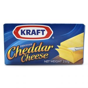 Buy Kraft Processed Cheddar Cheese - 250g online