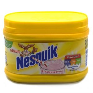 Buy Nestle Nesquik Complementing Milk, Strawberry Flavour - 300g online