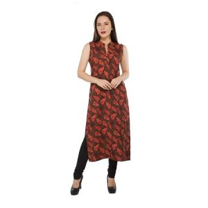 Buy Present Women Orange Cotton Kurti ( Code-pc-3198-a1) online