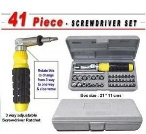 Buy Unique Gadget 41 PCs Tool Kit Screw Driver Set online