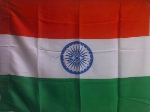 Buy Indian Flag (samnf30x45 Silk) online