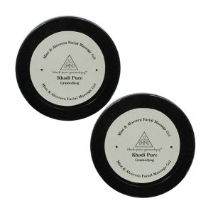 Buy Khadi Pure Herbal Mint & Aloevera Face Massage Gel - 100g (set Of 2) online