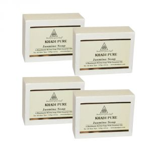 Buy Khadi Pure Herbal Jasmine Soap - 125g (set Of 4) online