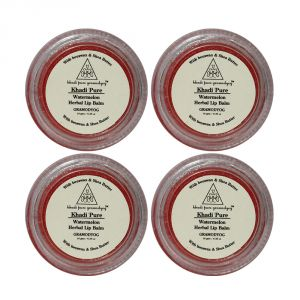 Buy Khadi Pure Herbal Watermelon Lip Balm - 10g (set Of 4) online
