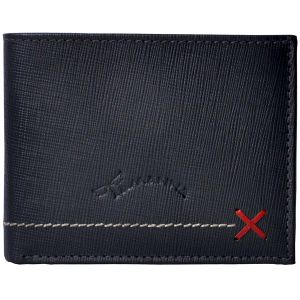 Buy Tamanna Men Black Genuine Leather Wallet (7 Card Slots) online