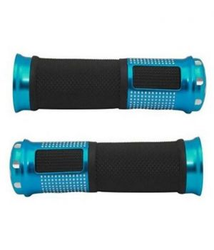 Buy Star Shine Stylish Bike Handle Grip Blue For All Bikes/all Scooty/all Scooters/all Bullets online